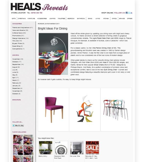 Heals blog